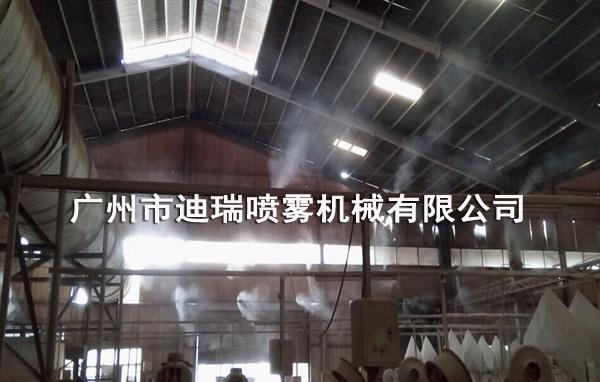 金泰源陶瓷喷雾降温系统