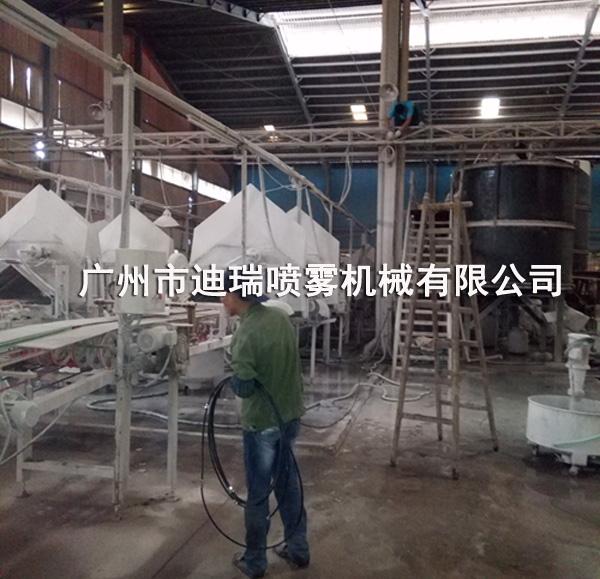 江西金泰源陶瓷喷雾降温系统